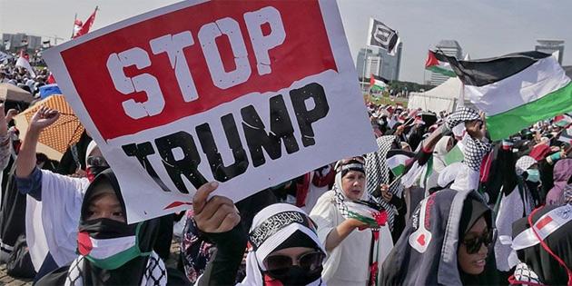 ABD'nin Büyükelçiliğini Kudüs'e taşıma kararı 46 ülkede protesto edilecek