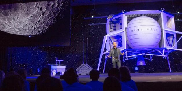 Uzay şirketi Blue Origin, Dünya'dan Ay'a yol yapacak!