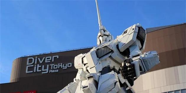 Çin, Gerçek Boyutlu Bir Gundam Heykeli İçin Hazırlıklara Başladı