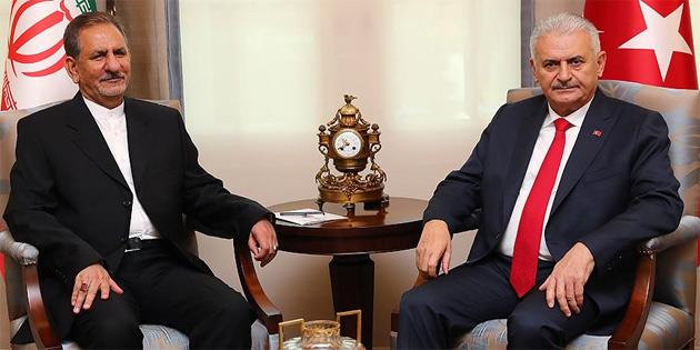 TC Başbakanı Yıldırım'dan başsağlığı telefonu