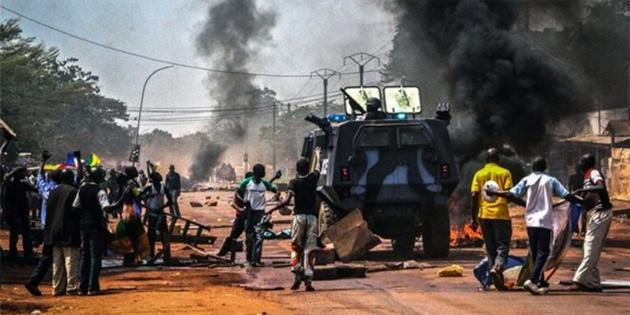 Orta Afrika Cumhuriyeti'nde konser sırasında bombalı saldırı