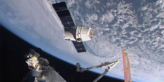 Space X için bir ilk