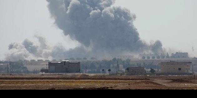 Şam, Hama, Humus, Dera, Süveyda'daki askeri noktalar bombalandı