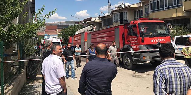 Ankara'da işyerinde patlama sonrası yangın çıktı : 2 kişi öldü, 3 kişi yaralandı