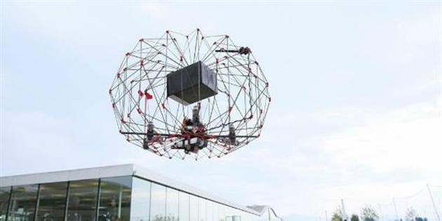 Origamiden ilham alınan drone