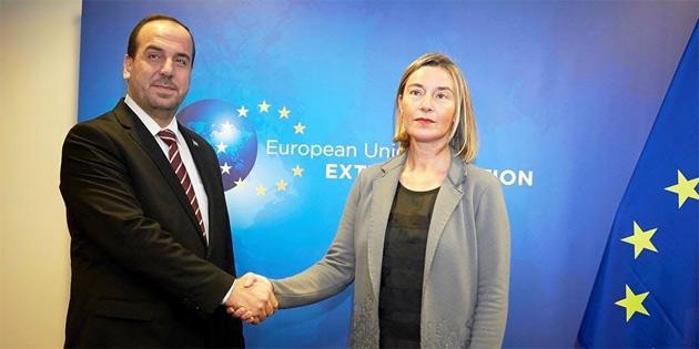 Mogherini, MYK Başkanı Hariri ile görüştü