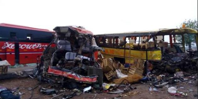 Gana'da trafik kazası: 16 ölü