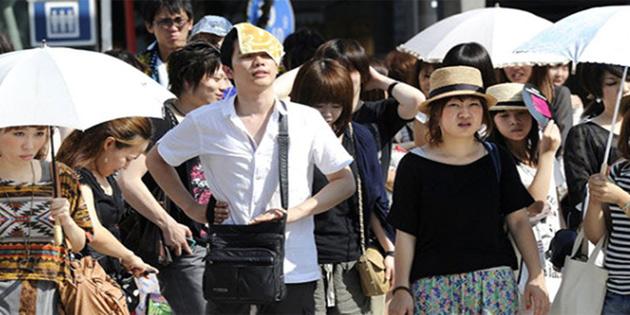 Japonya'da aşırı sıcaklardan 5 kişi öldü