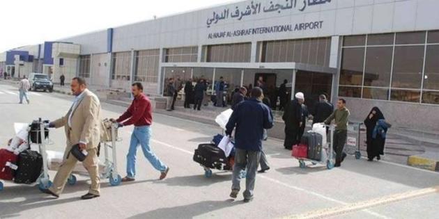 Irak'ta Necef havalimanı yönetimi görevden alındı