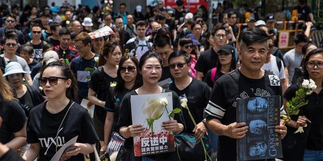 Hong Kong'daki protestolar