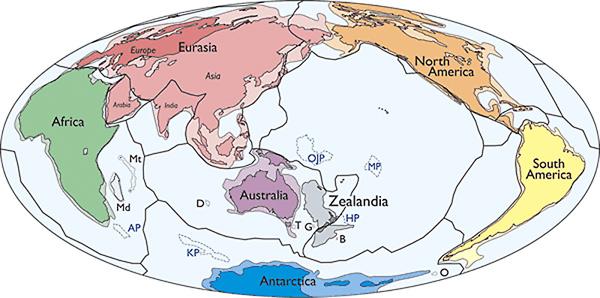 Araştırmacılar, Zealandia İsimli Yeni Bir Kıta Buldular!