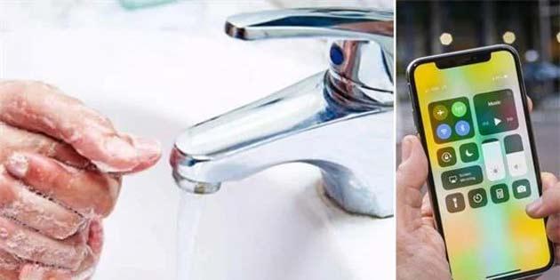 El yıkamayı hatırlatan uygulama çıktı
