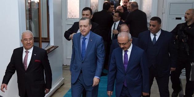 TC Cumhurbaşkanı Erdoğan, Baykal'ı ziyaret etti