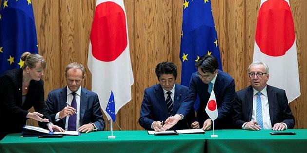 AB-Japonya ticaret anlaşması imzalandı