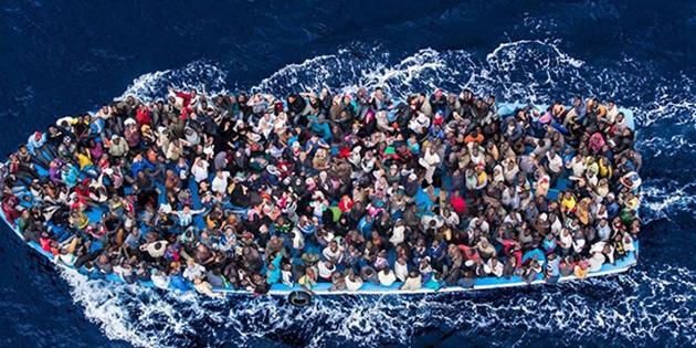 600 göçmen kurtarıldı