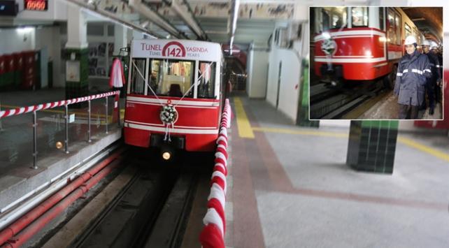 Karaköy Tüneli 142 yaşında