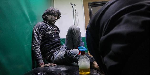 Doğu Guta'daki 700 hasta Türkiye'nin girişimiyle Şam'da