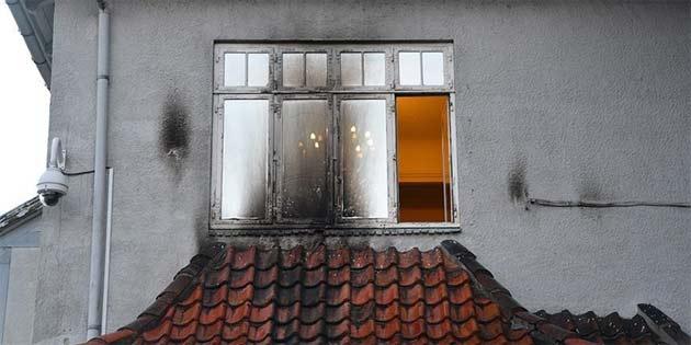 Kopenhag Büyükelçiliğine saldırı