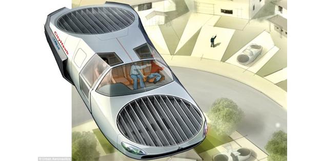 Uçan Araba Konsepti 2022 Yılında Faaliyete Geçiyor!