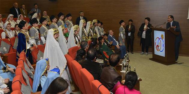 Dünya çocukları KDK'yı ziyaret etti
