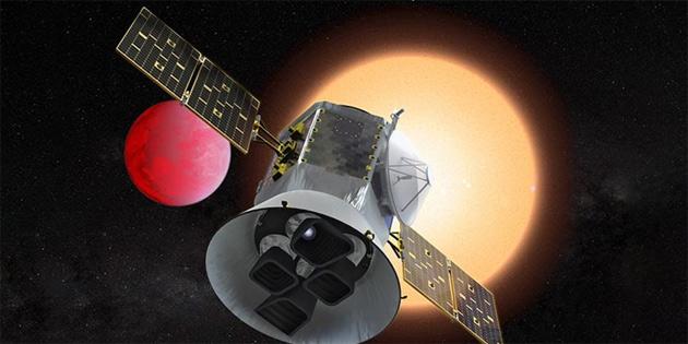 NASA öte gezegen keşif uydusunu uzaya yolladı