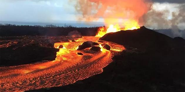 """""""Dünya'nın en büyük kalkan volkanı"""" unvanı el değiştirdi!"""