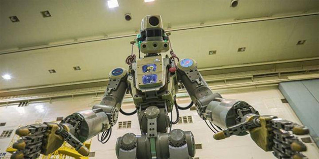 Rusya, 'robot kozmonotunu' önümüzdeki hafta uzaya gönderecek