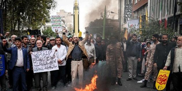 İran'da Gonabadi tarikatı eylemi