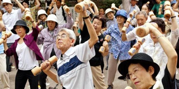 Japonya'da nüfusun yüzde 14'ü 75 yaş ve üstünde