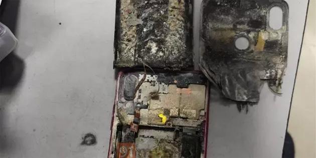 Telefon neden patladı?