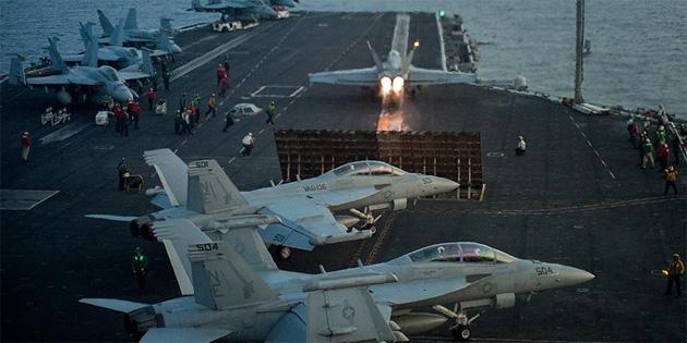 Pentagon'dan 'Carl Vinson Uçak Gemisi' açıklaması