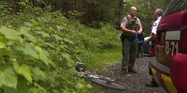 ABD'de puma bisikletçilere saldırdı