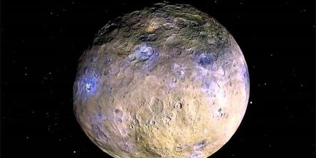 NASA, Güneş Sisteminin En Büyük Asteroidi Ceres'te Buz Volkanı Bulunduğunu Açıkladı