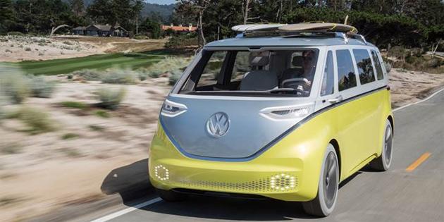Volkswagen'in elektrikli mikrobüsü 2022'de yollara çıkıyor