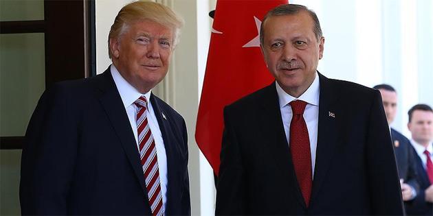 TC Cumhurbaşkanı Erdoğan yarın ABD Başkanı Trump ile görüşecek