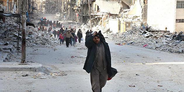 Esed 8 bin sivili 'ölümüne' bekletiyor