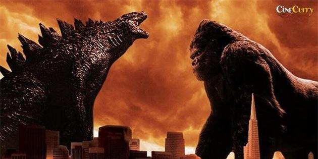 Godzilla, King Kong'a karşı!