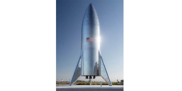 Elon Musk'ın dev uzay gemisi 'Starship' bu hafta ilk kez havalanacak