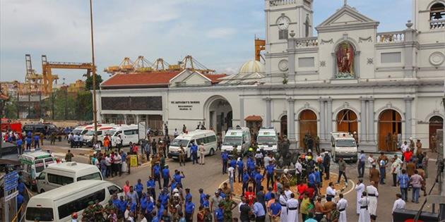 Sri Lanka'da kilise ve otellere saldırılar