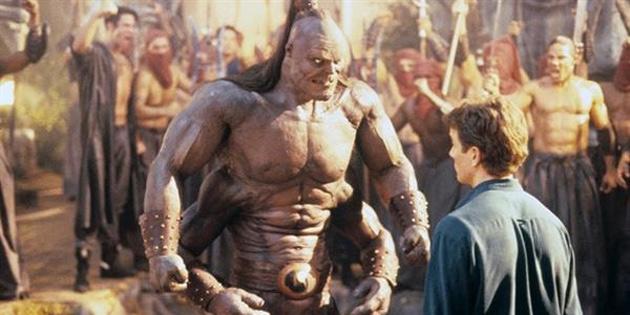 1995 yapımı Mortal Kombat filminde Goro karakteri nasıl yapıldı? - VIDEO