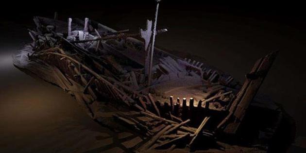 2500 yıllık gemi mezarlığı keşfedildi!