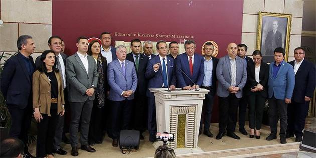 CHP'li 15 Milletvekili İyi Parti'ye katıldı