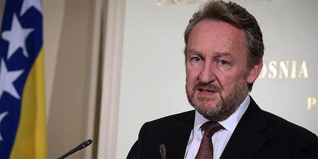 Boşnak lider İzetbegovic'ten Cumhurbaşkanı Erdoğan'a tebrik