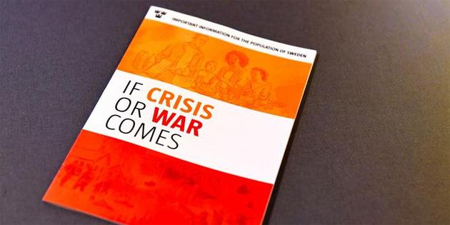 İsveç'te olası bir kriz durumunda neler yapılacağı konusunda halkı bilgilendiren broşürler dağıtılacak