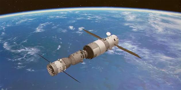 Çin'in uzay istasyonu Tiangong 2, Dünya'ya düştü