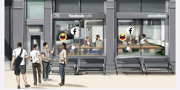Facebook, gizlilik temalı cafe açacak