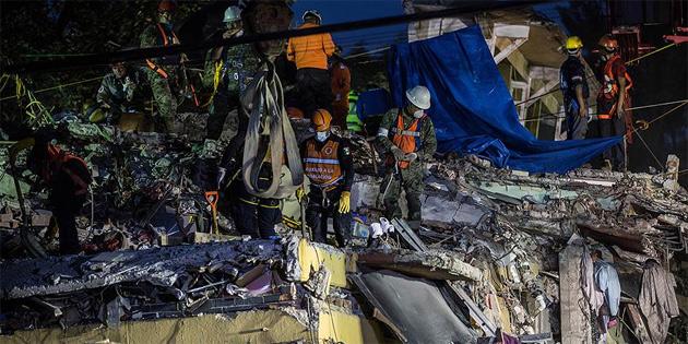 Meksika'daki depremde ölenlerin sayısı 286'ya çıktı