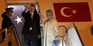 Türkiye Cumhurbaşkanı Erdoğan Mozambik'e gitti