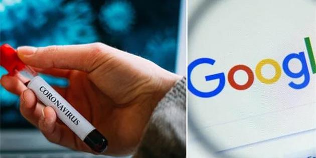 Google corona virüsü sitesi erişime açıldı