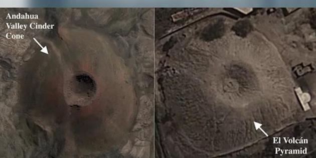 Peru'da Keşfedilen Volkan Şeklindeki Piramit